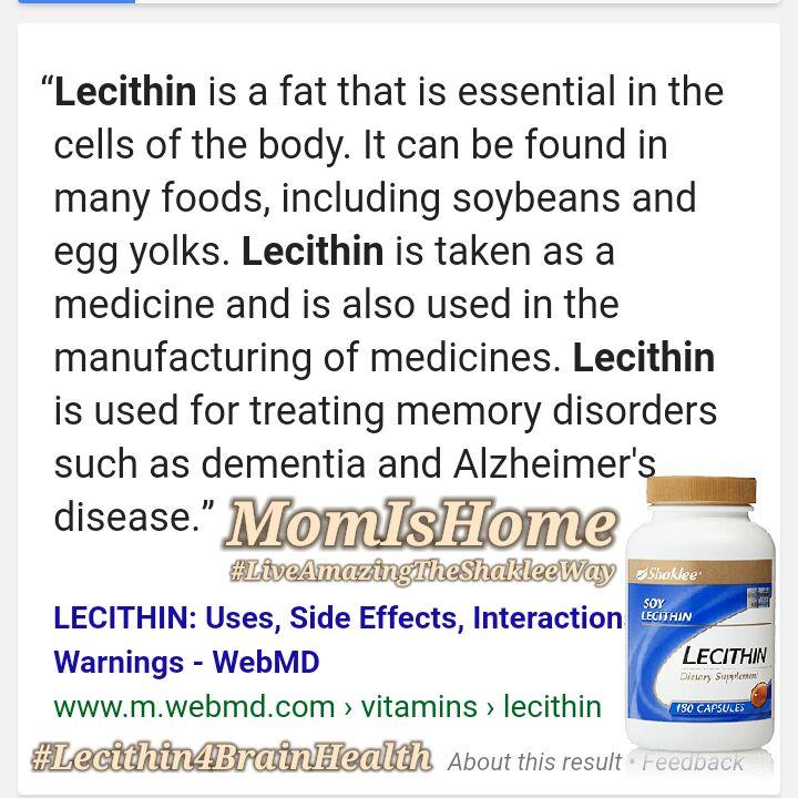 Lecithin anxiety