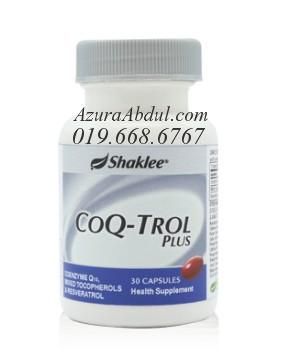 CoQ-Trol Plus. TIngkatkan Tenaga Anda