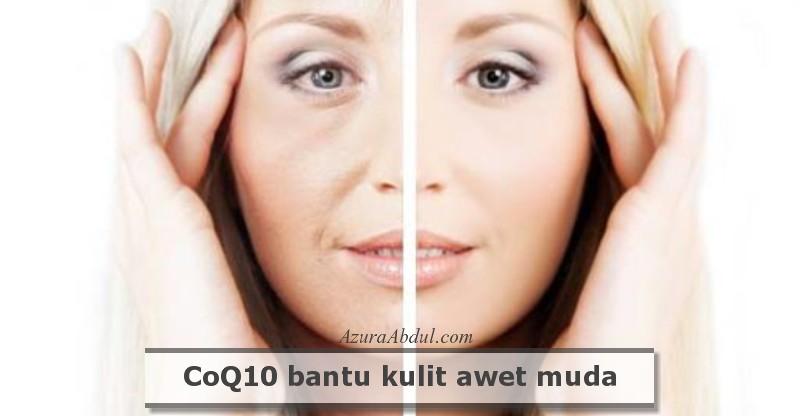 CoQ10 untuk kulit kelihatan awet muda