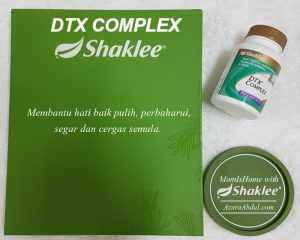 DTX Complex Shaklee detox hati