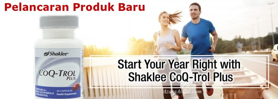 Shaklee lancar produk baru CoQ-Trol Plus