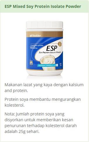 ESP - Serbuk Protein Soya Shaklee