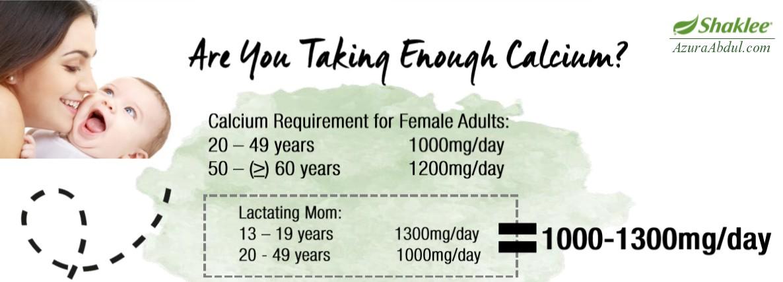 kalsium untuk ibu menyusu