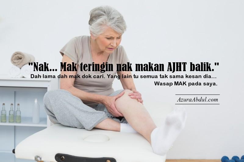 AJHT hilangkan sakit lutut