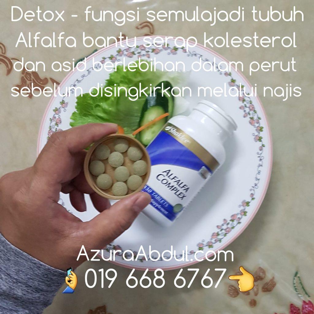 Alfalfa bantu proses detox semulajadi tubuh