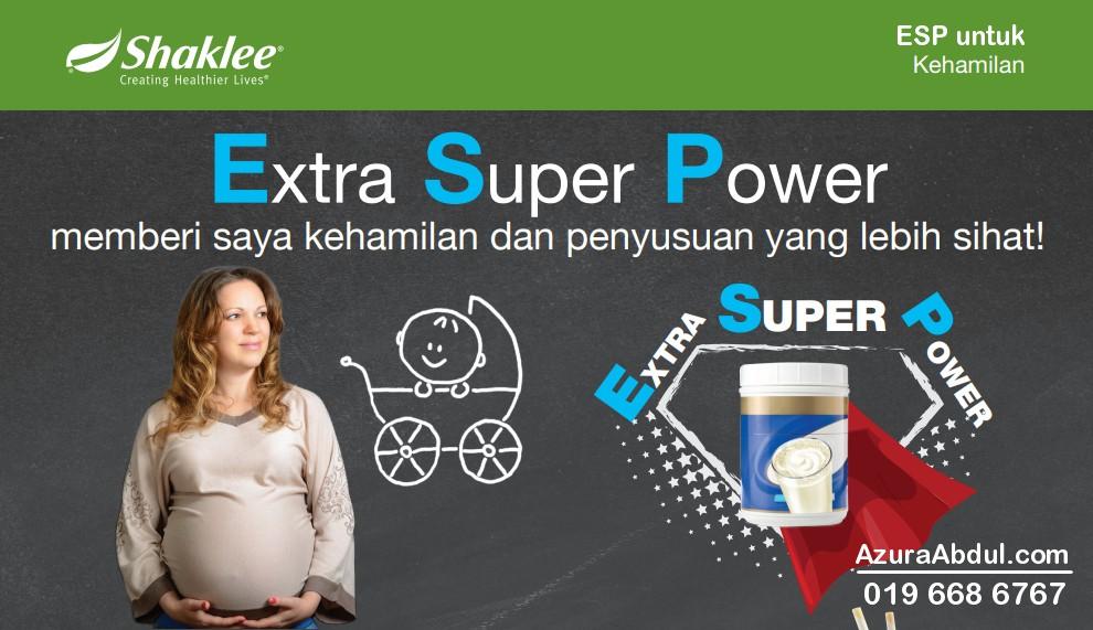 ESP untuk kehamilan dan penyusuan yang sihat