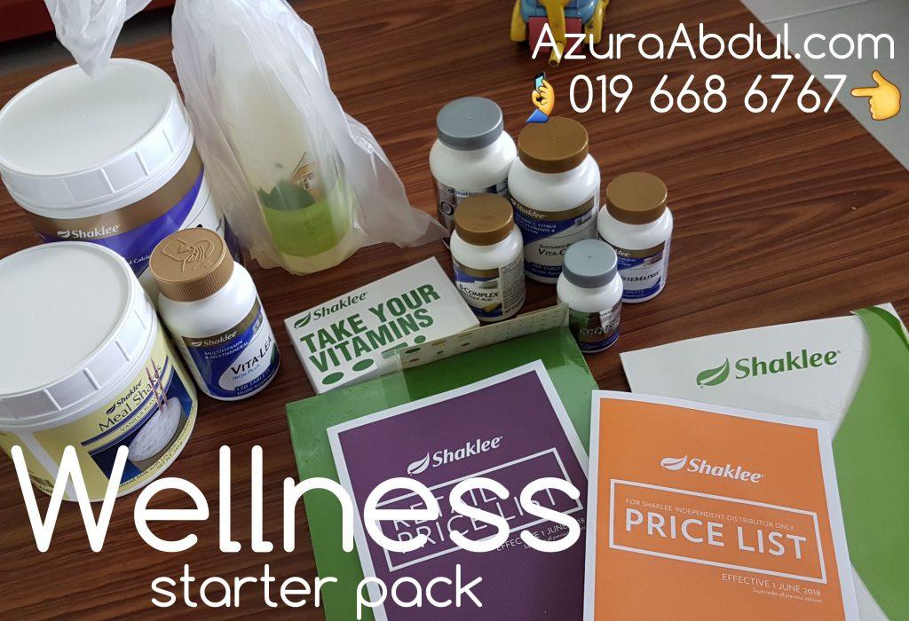 Wellness Starter Pack Shaklee KakNjang
