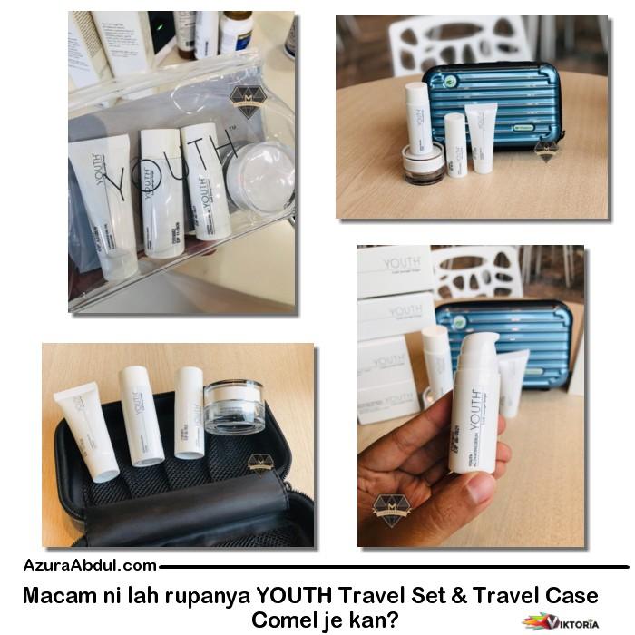 YOUTH Travel Set & Travel Case