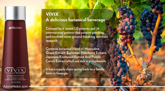 Vivix untuk telomere lebih sihat