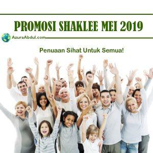 Promosi Shaklee Mei 2019