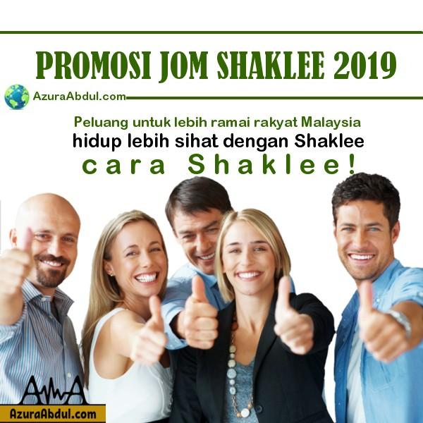 Promosi Jom Shaklee 2019
