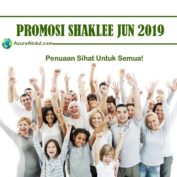 Promosi Shaklee Jun 2019