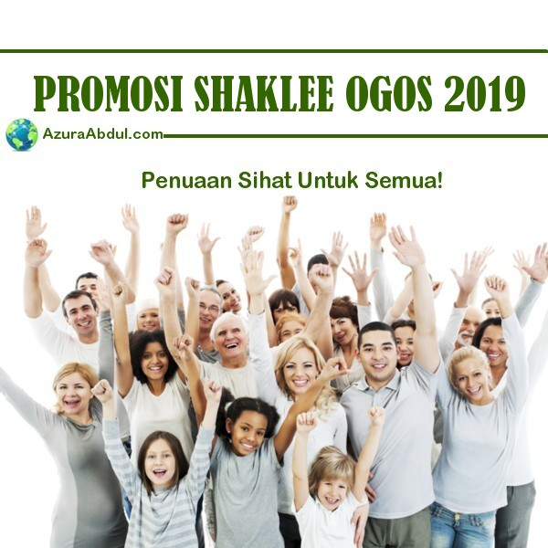 Promosi Shaklee Ogos 2019 - Vivix Murah