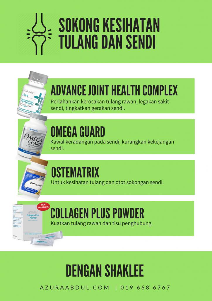 Pemakanan Tambahan Untuk Bantu Hilangkan Sakit Lutut