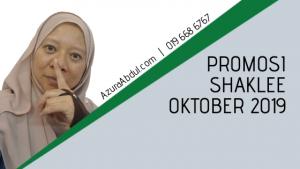 Promosi Shaklee Oktober 2019
