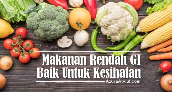 Rendah GI baik untuk kesihatan