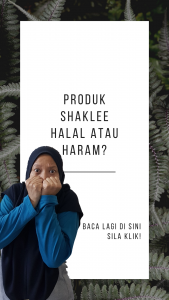 Produk Shaklee Halal Atau Haram?