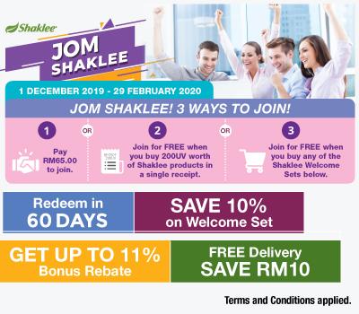 Promosi Shaklee Disember 2019 - Promosi Jom Shaklee kini kembali dengan set baru ...