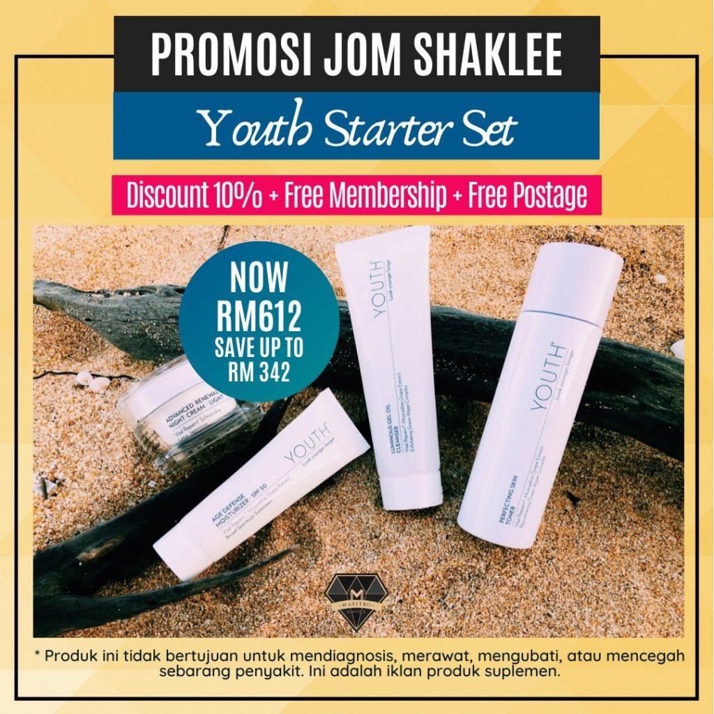 Promosi Jom Shaklee 2020 YOUTH Starter Set