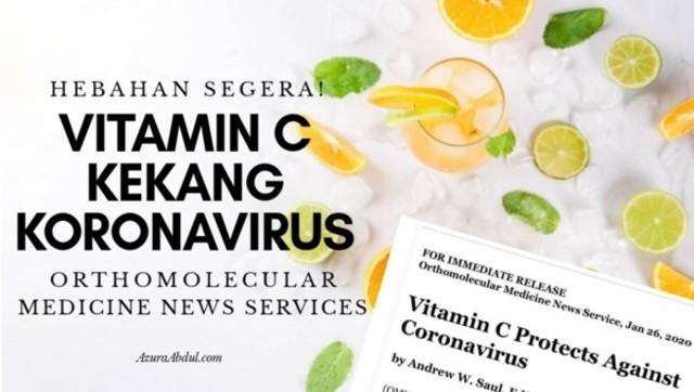 vitamin c kekang koronavirus