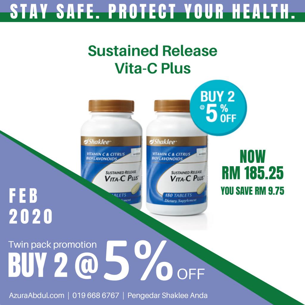 Vita-C Shaklee tingkatkan imun untuk cegah influenza