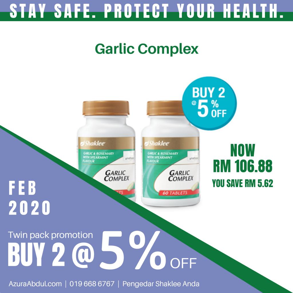 Garlic Plus Shaklee tingkatkan imun untuk cegah influenza