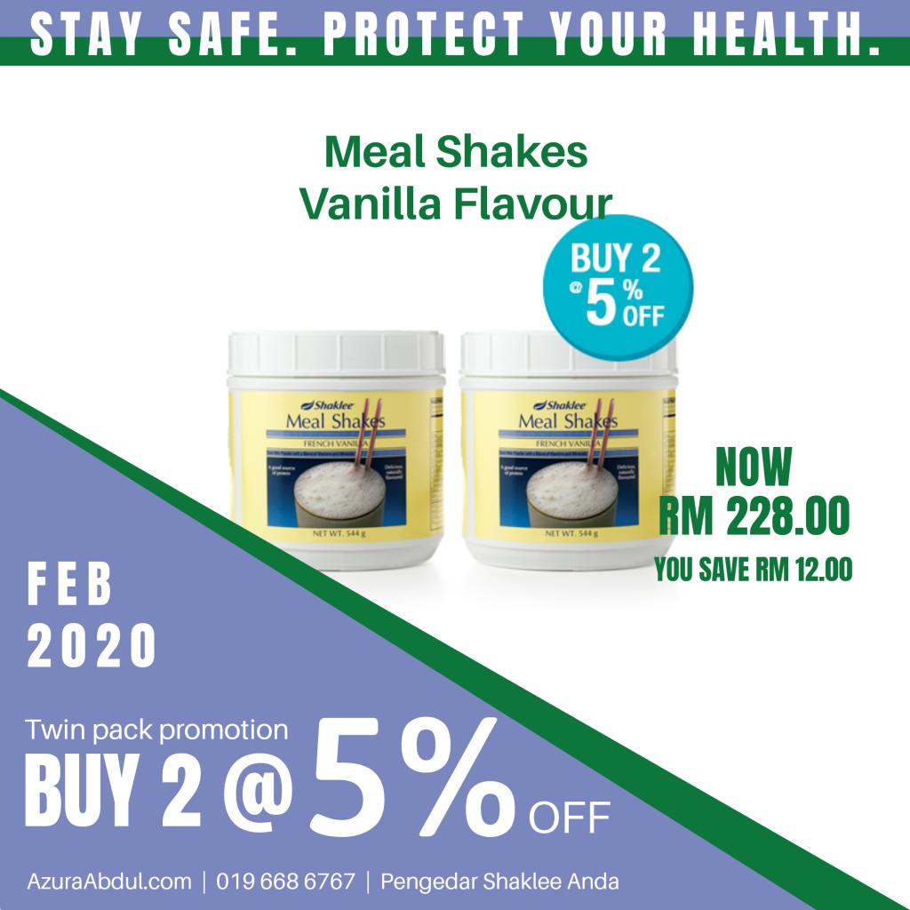 Meal Shakes Shaklee tingkatkan imun untuk cegah influenza
