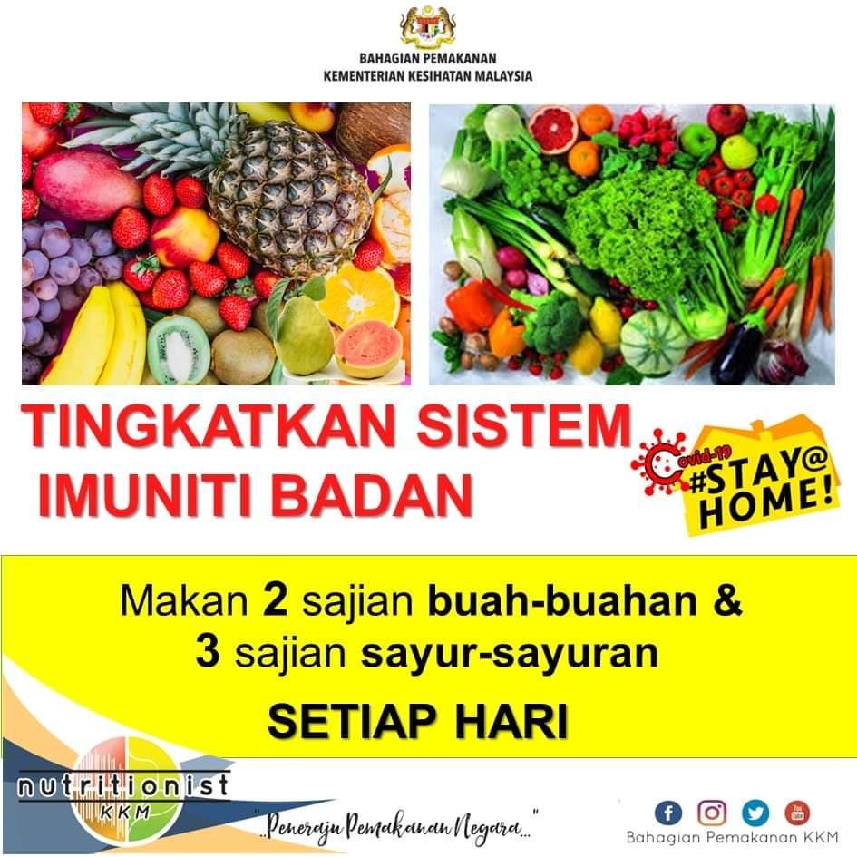makanan untuk tingkatkan sistem imun tubuh