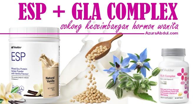 ESP dan GLA sokong keseimbangan hormon wanita