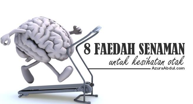 8 Faedah Senaman Untuk kesihatan Otak
