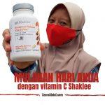 Azura Abdul Mulakan Hari Dengan Vitamin C