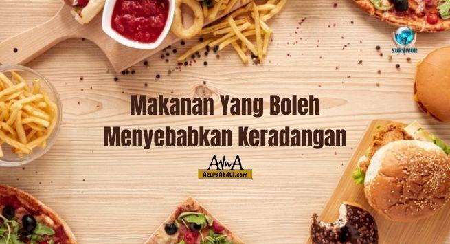 Makanan yang boleh menyebabkan keradangan | Azura Abdul