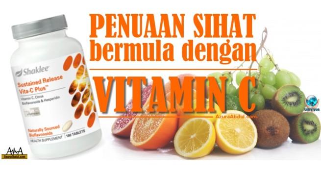 Penuaan Sihat bermula dengan vitamin C