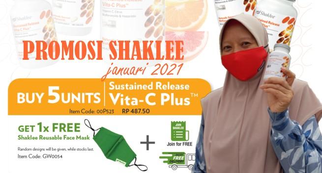Promosi Shaklee Januari 2021 | Azura Abdul