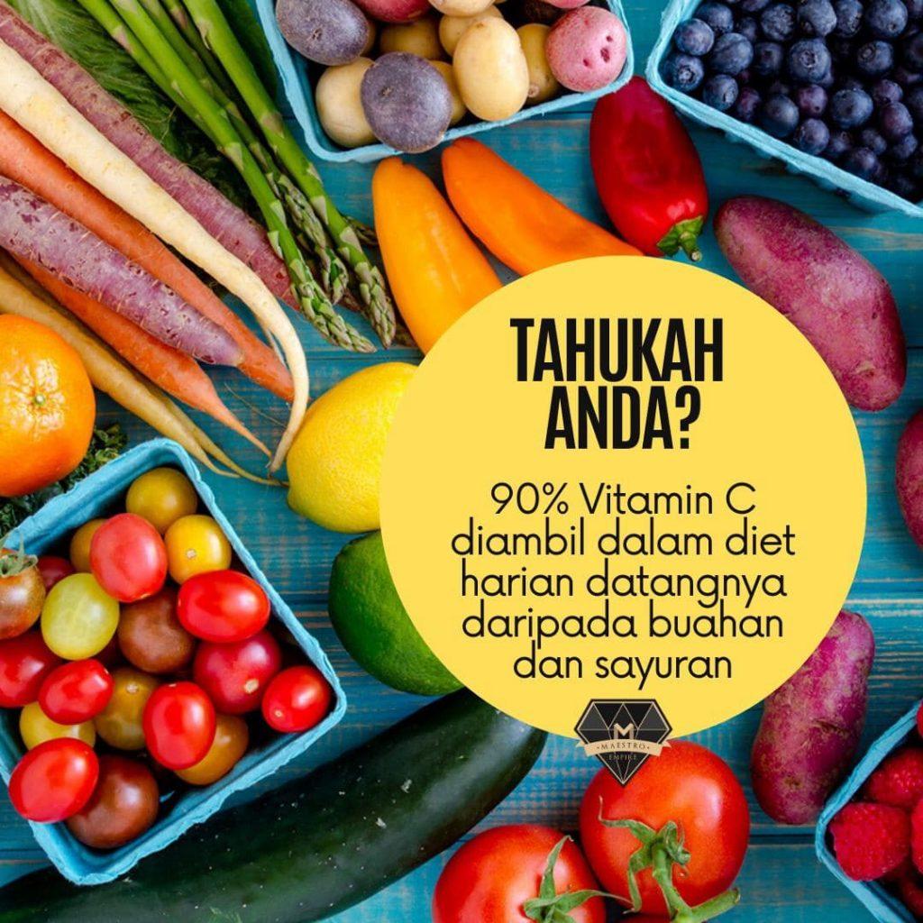 sumber vitamin c dari pemakanan