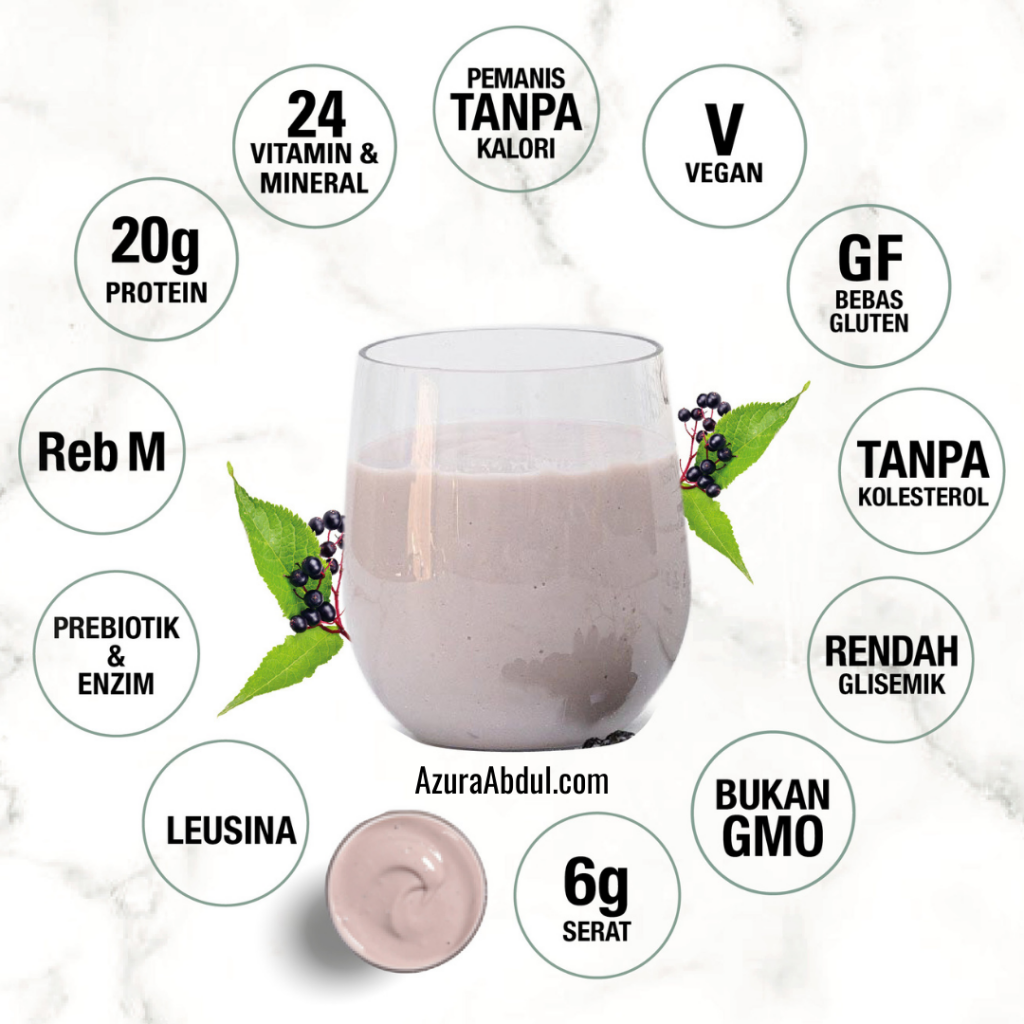 Elderberry Life Shake Mixed Soy Protein Shaklee