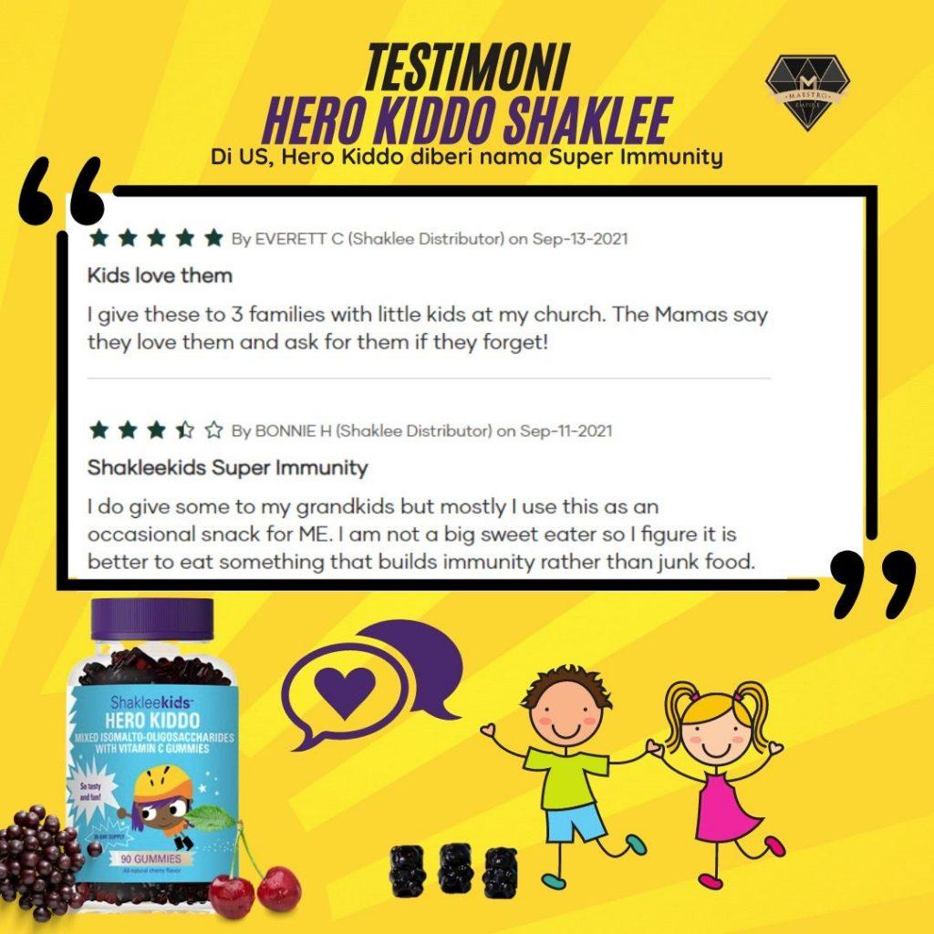 ShakleeKids | Hero Kiddo | Healthy Gummy Bear | Testimoni 1 | Azura Abdul