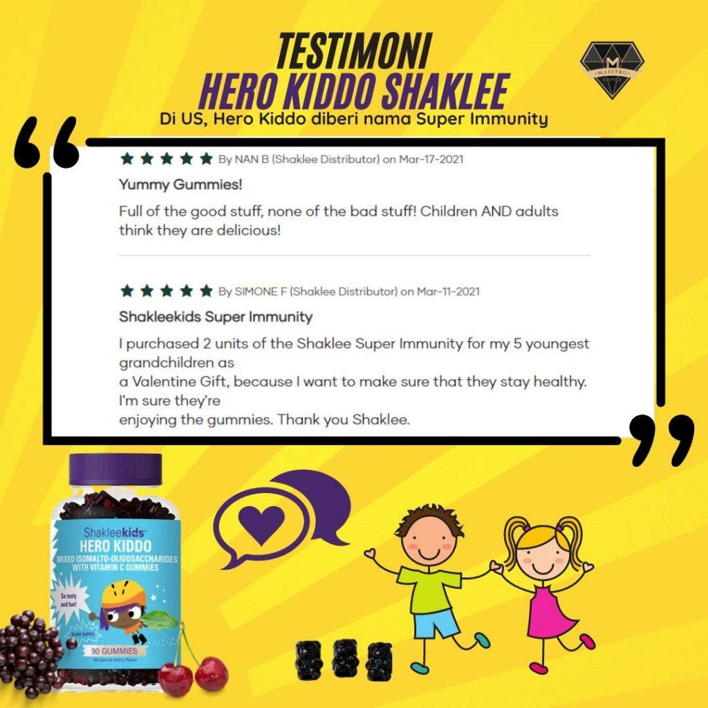 ShakleeKids | Hero Kiddo | Healthy Gummy Bear | Testimoni 4 | Azura Abdul