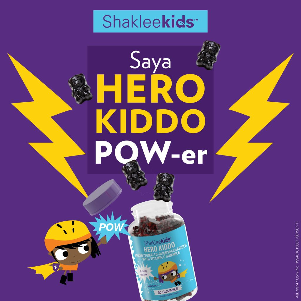 Hero Kiddo | ShakleeKids | Healthy Gummy bear | Azura Abdul
